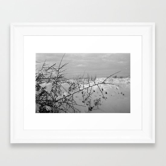 Strained Framed Art Print