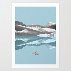 No River Wide Enough Art Print