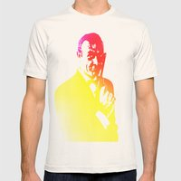 James Bond - Tequila Sunrise Mens Fitted Tee Natural SMALL