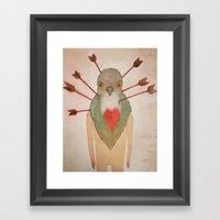 Bleeding Heart (Oh Such … Framed Art Print