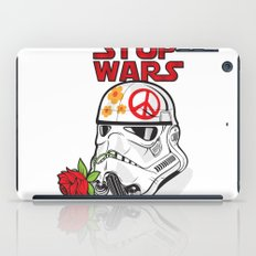 stop wars: stormtrooper for peace iPad Case