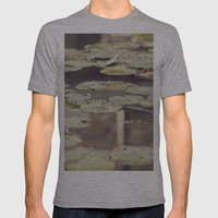 Water lilies Mens Fitted Tee Athletic Grey SMALL