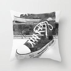 Get Chucked Throw Pillow