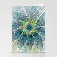 Flourish Fantasy, Abstra… Stationery Cards