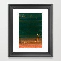 First Steps Framed Art Print