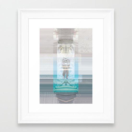 ( A    I ) spirazione Framed Art Print