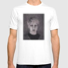 mugshoot White SMALL Mens Fitted Tee