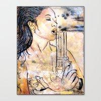 Caliber Love #4  Canvas Print