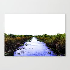 white sky Canvas Print