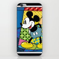 Mickey Spotlight iPhone & iPod Skin