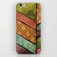 Vintage Material Chevron iPhone & iPod Skin