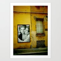 italy Art Prints featuring italy by sustici
