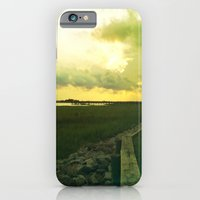 iPhone & iPod Case featuring océano 7 by Chris Kitzmiller