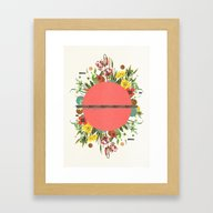 Organic Beauty_1 Framed Art Print