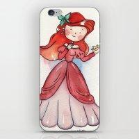 Ariel human iPhone & iPod Skin