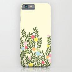 graphic flowers iPhone 6 Slim Case