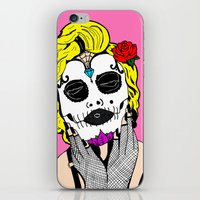 Dia De Los Marilyn En COLOR! iPhone & iPod Skin
