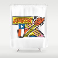 Austin TX Shower Curtain
