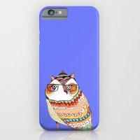 Owl, Owl Art, Owl Illust… iPhone 6 Slim Case