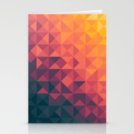 Stationery Cards featuring Infinity Twilight by Budi Kwan