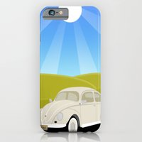 Retro Volkswagen Bug - Sunrise iPhone 6 Slim Case