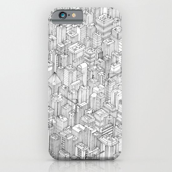 Isometric Urbanism pt.1 iPhone & iPod Case