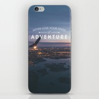 Never Lose Your Sense of Adventure iPhone & iPod Skin