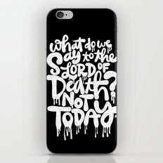What do we say... iPhone & iPod Skin