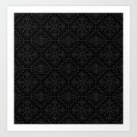 UFOlk 4 Art Print