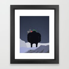 Mountain Giant Framed Art Print