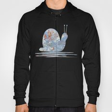 Memories of the Sea -- abstract marine paint age grunge boat nautical  Hoody