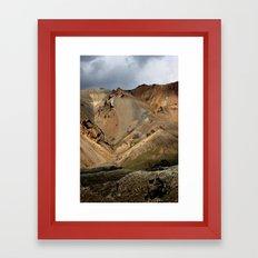 Mountains of Iceland Framed Art Print