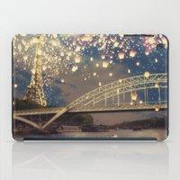 Love Wish Lanterns over Paris iPad Case