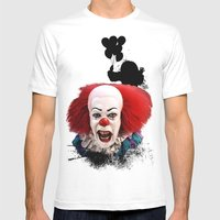 Pennywise the Clown: Monster Madness Series Mens Fitted Tee White SMALL