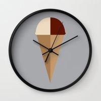Dent De Leche Wall Clock