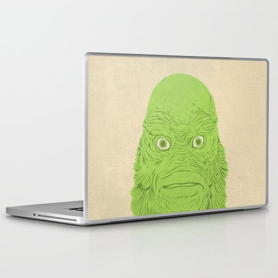 Young Professional from the Black Lagoon Laptop & iPad Skin