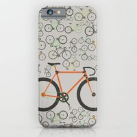 iPhone & iPod Case featuring Fixed gear bikes by Wyatt Design