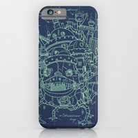 iPhone & iPod Case featuring Chateau Ambulant by Krikoui