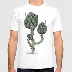Artichoke Fairies  Mens Fitted Tee White SMALL