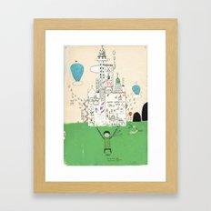 I love life. Framed Art Print