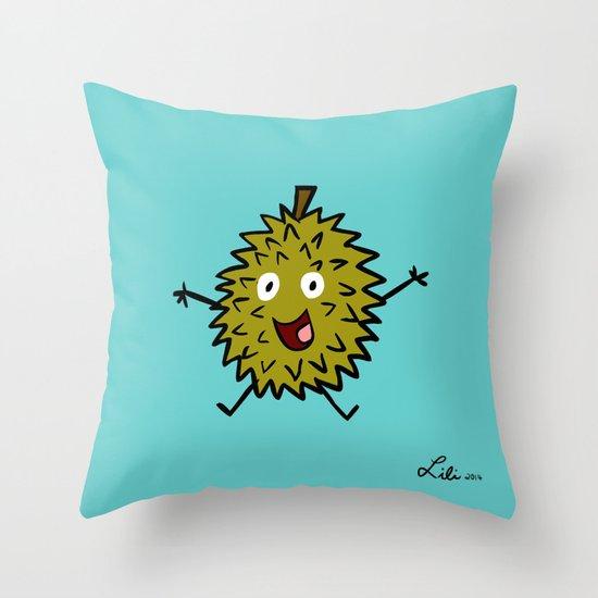 Durian Throw Pillow