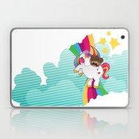 Chestnut Girl And Starli… Laptop & iPad Skin