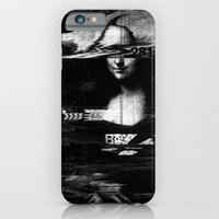 Mona Lisa Glitch iPhone 6 Slim Case