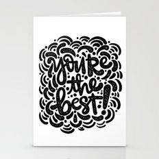 YOU'RE THE BEST Stationery Cards
