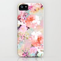 iPhone Cases featuring Love of a Flower by Girly Trend