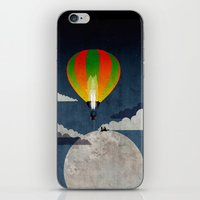 Picnic In A Balloon On T… iPhone & iPod Skin