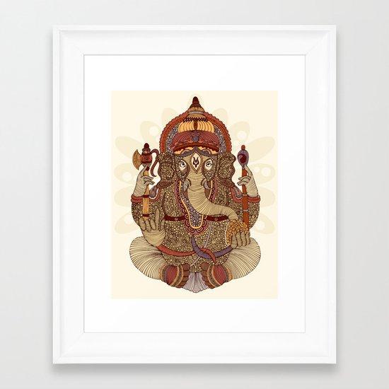 Ganesha: Lord of Success Framed Art Print