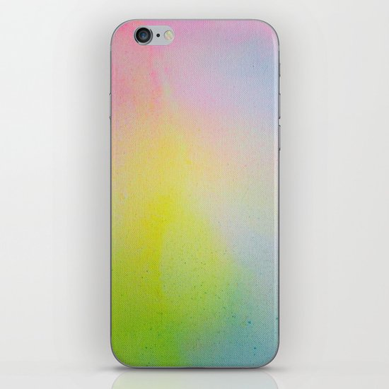 Color Field/Washes III iPhone & iPod Skin