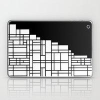 Map Black Boarder Laptop & iPad Skin