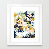 Sloane - Abstract Painti… Framed Art Print